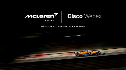 Creating Exhilarating and Exciting Experiences with Cisco Webex and McLaren Racing