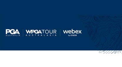 Webex di Cisco è stato nominato partner di tecnologia di collaborazione ufficiale del PGA Australia e del WPGA Tour
